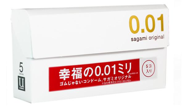 Hình ảnh bao cao su Sagami Original 0.01