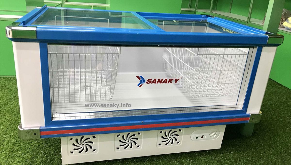 Tủ mát nằm ngang Sanaky VH 288K dung tích 280L