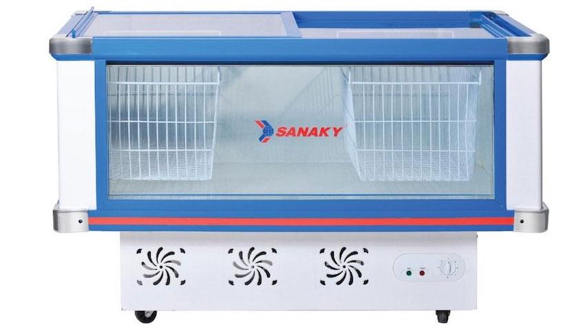 Tủ mát nằm ngang Sanaky VH 288K