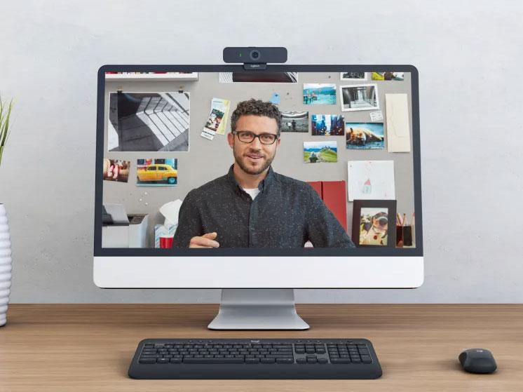 Webcam Logitech C925E (HD) New dễ dàng điều khiển qua máy tính