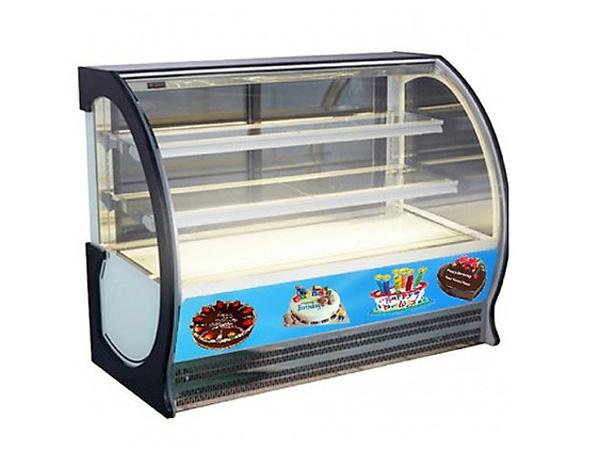 Tủ trưng bày bánh kem thiết kế đẹp mắt, tinh tế
