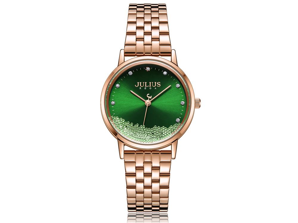 Hình ảnh đồng hồ nữ JA-1283 Julius Hàn Quốc dây thép