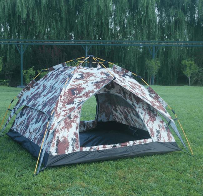 Hình ảnh thực tế lều màu rằn ri