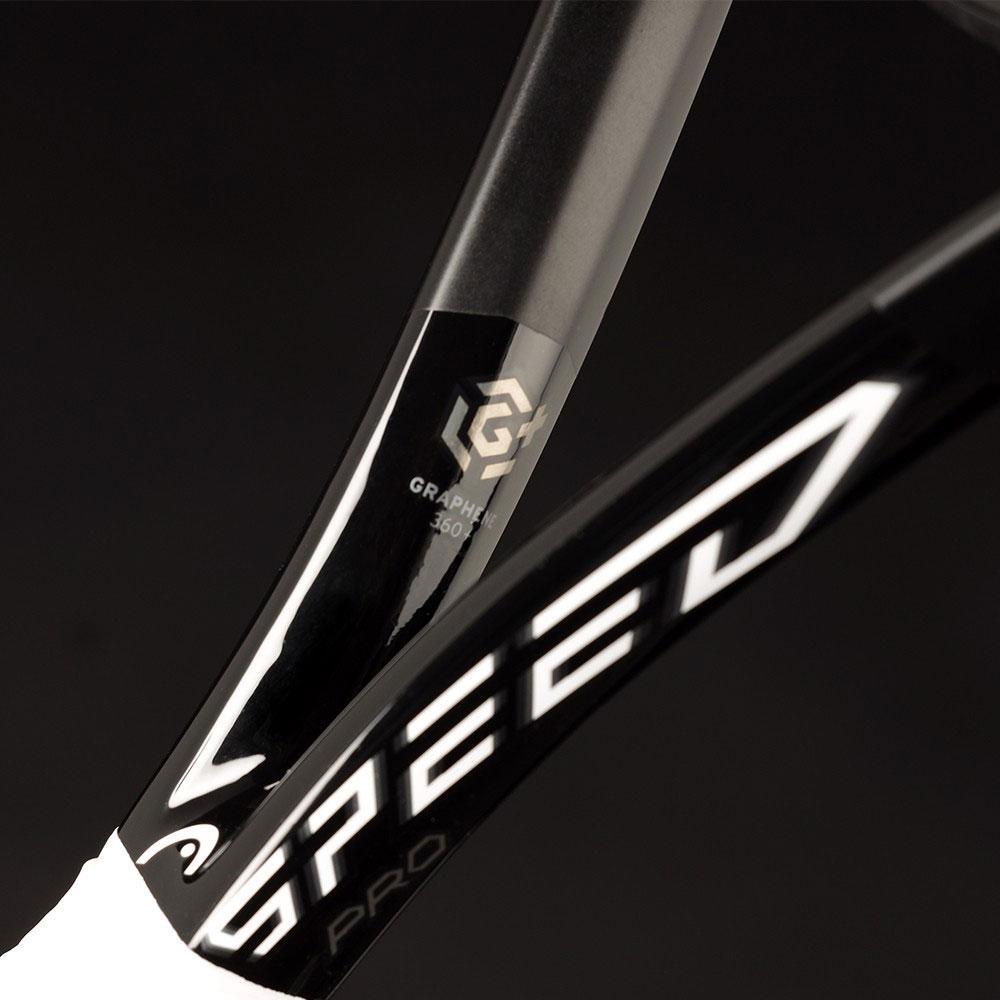 Vợt tennis Head Graphene 360+ SPEED MP Black thiết kế đầy ấn tượng