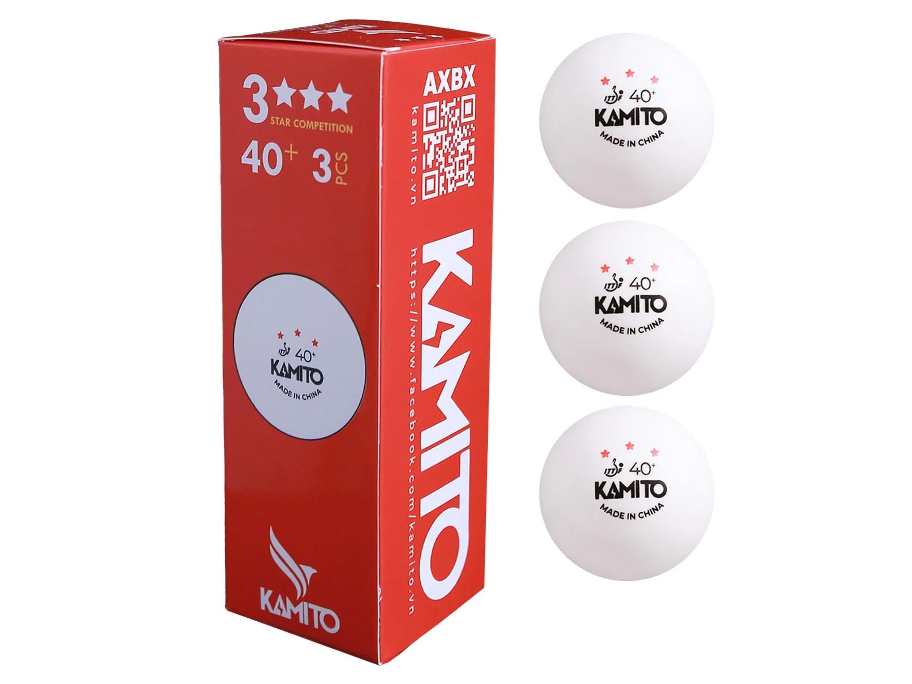 Quả bóng bàn Kamito 3 sao