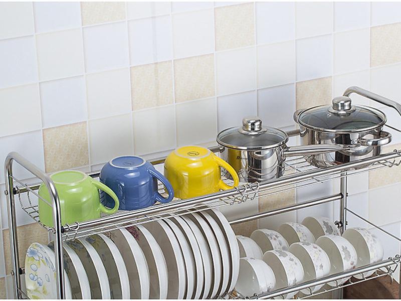 Giá giúp bát đĩa nhanh khô, tránh ẩm mốc