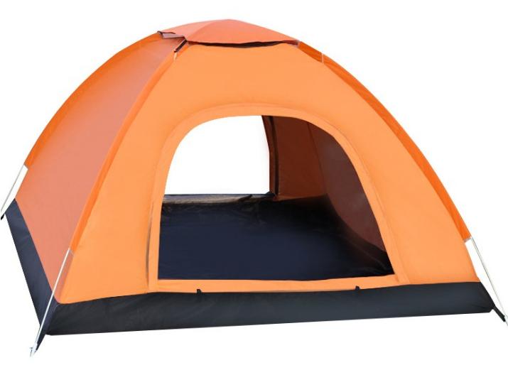 Lều trại màu cam