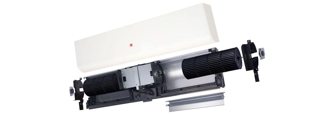 Quạt chắn gió KDK 4012UA sở hữu động cơ bền bỉ