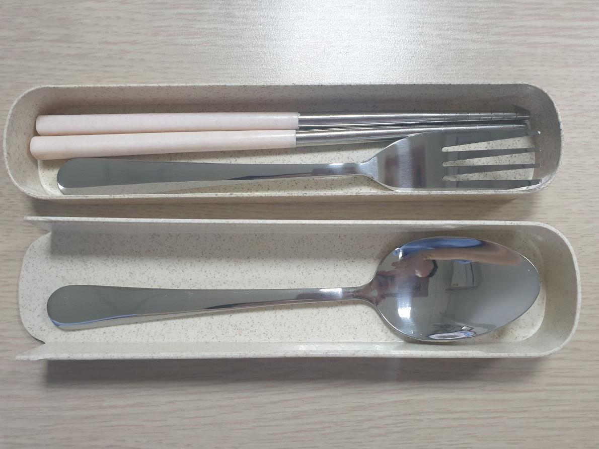 bộ đũa muỗng nĩa inox
