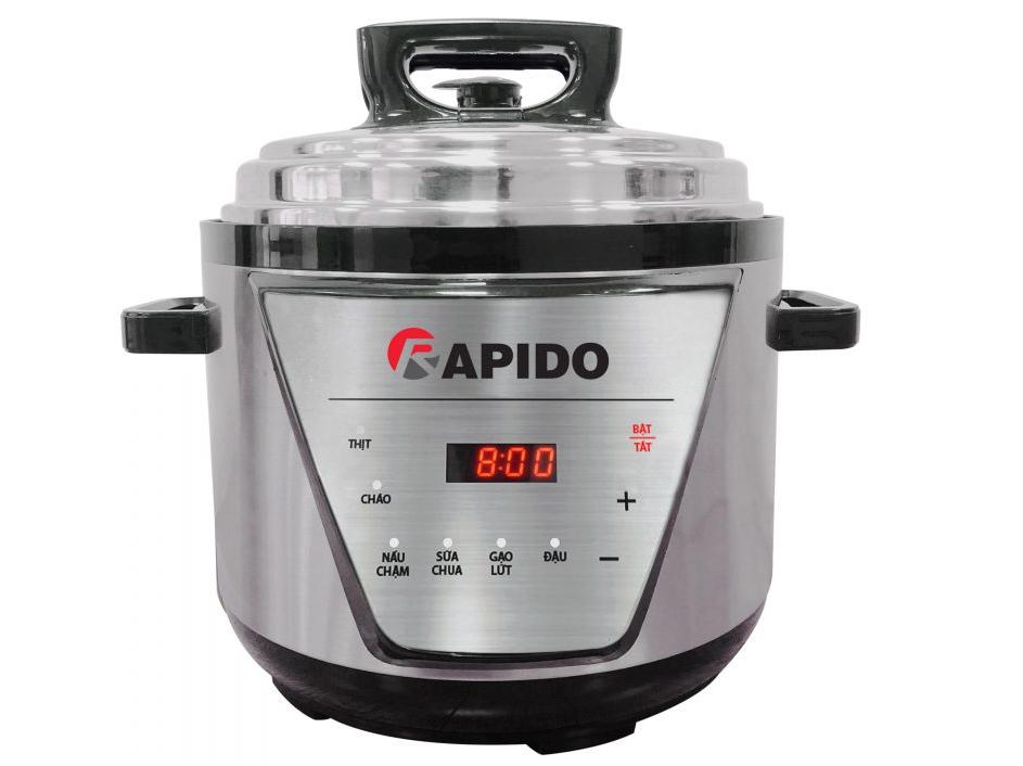 Nồi áp suất điện đa năng Rapido RPC900-D