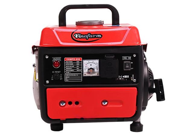 Hình ảnh máy phát điện mini 1kw chạy xăng 2 thì Vinafarm 950