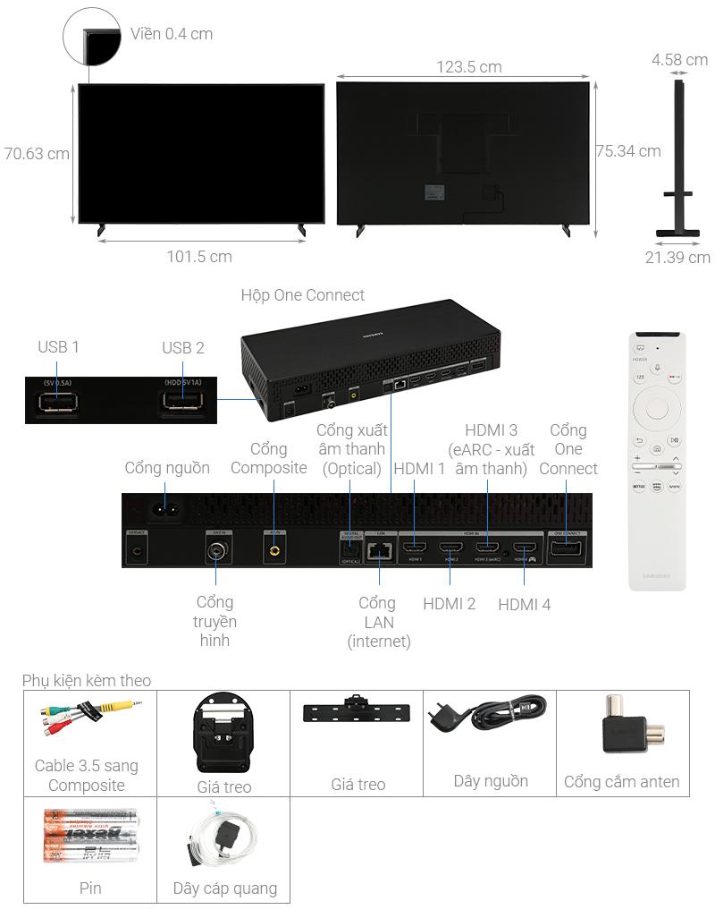 Cấu tạo Smart Tivi khung tranh