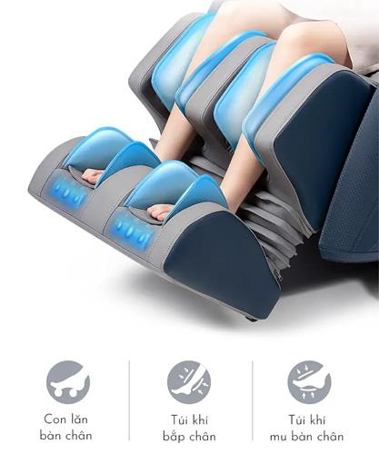 Ghế massage toàn thân Kamita