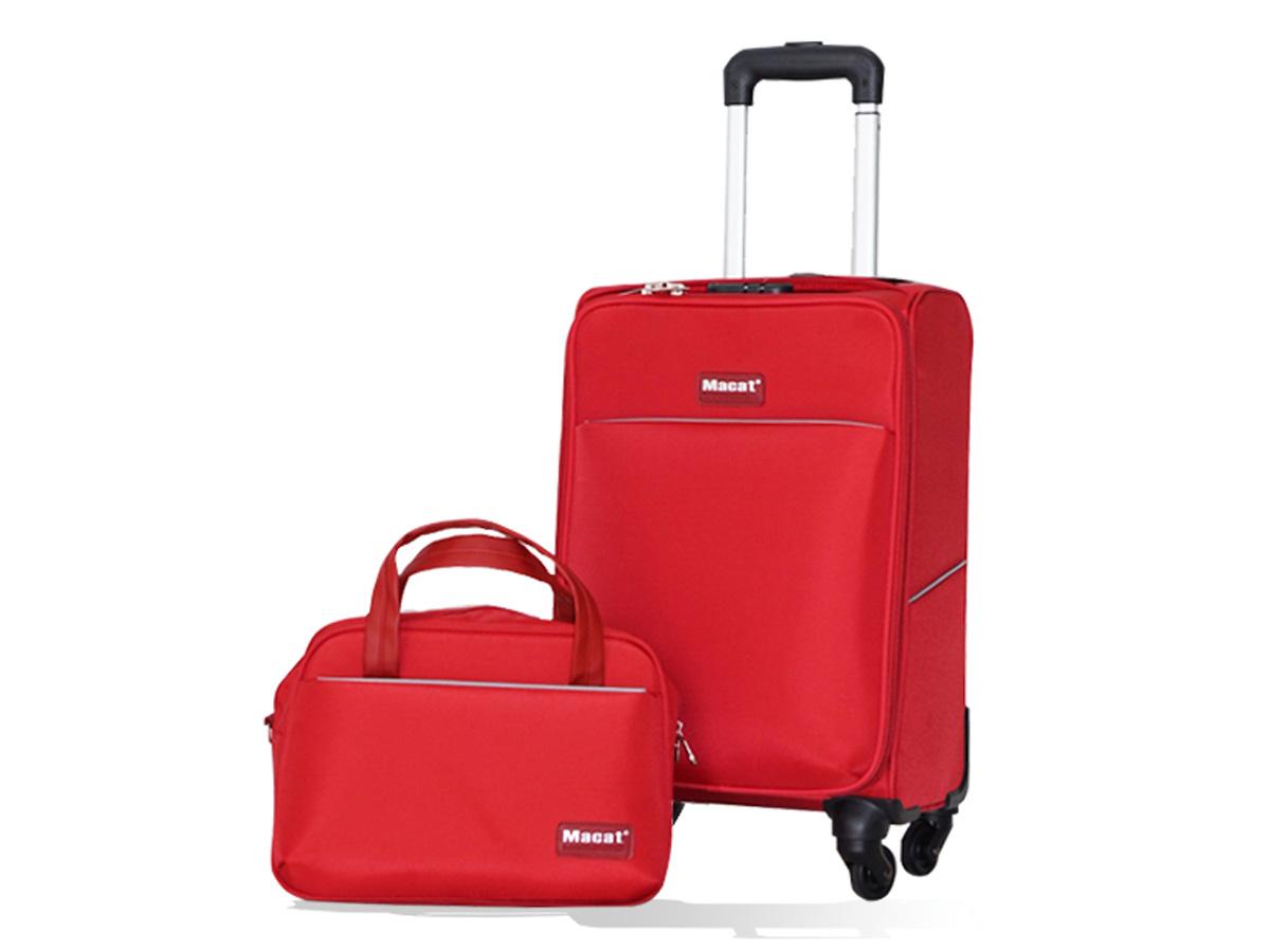 Bộ sản phẩm gồm 1 vali và 1 túi xách