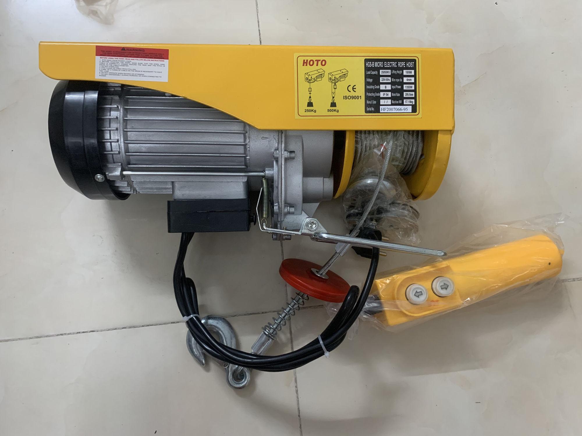 Tời điện Hoto PA 500 (500kg)
