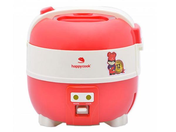 Hình ảnh nồi cơm cơ điện nắp gài Happycook 1 lít HC-100 (Đỏ)