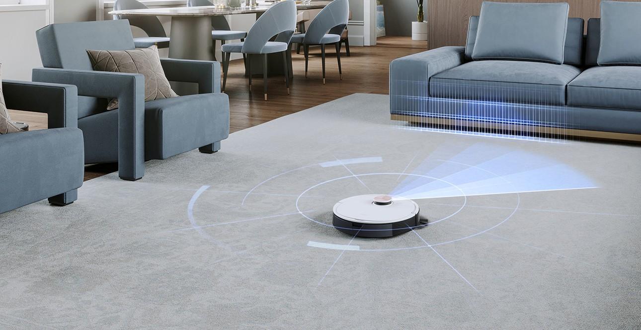Robot hút bụi lập bản đồ chính xác