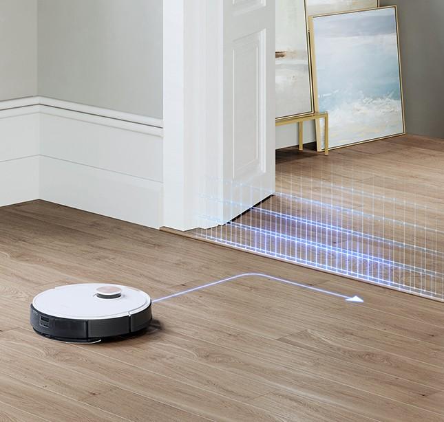 Robot hút bụi có chế độ tường ảo thông minh