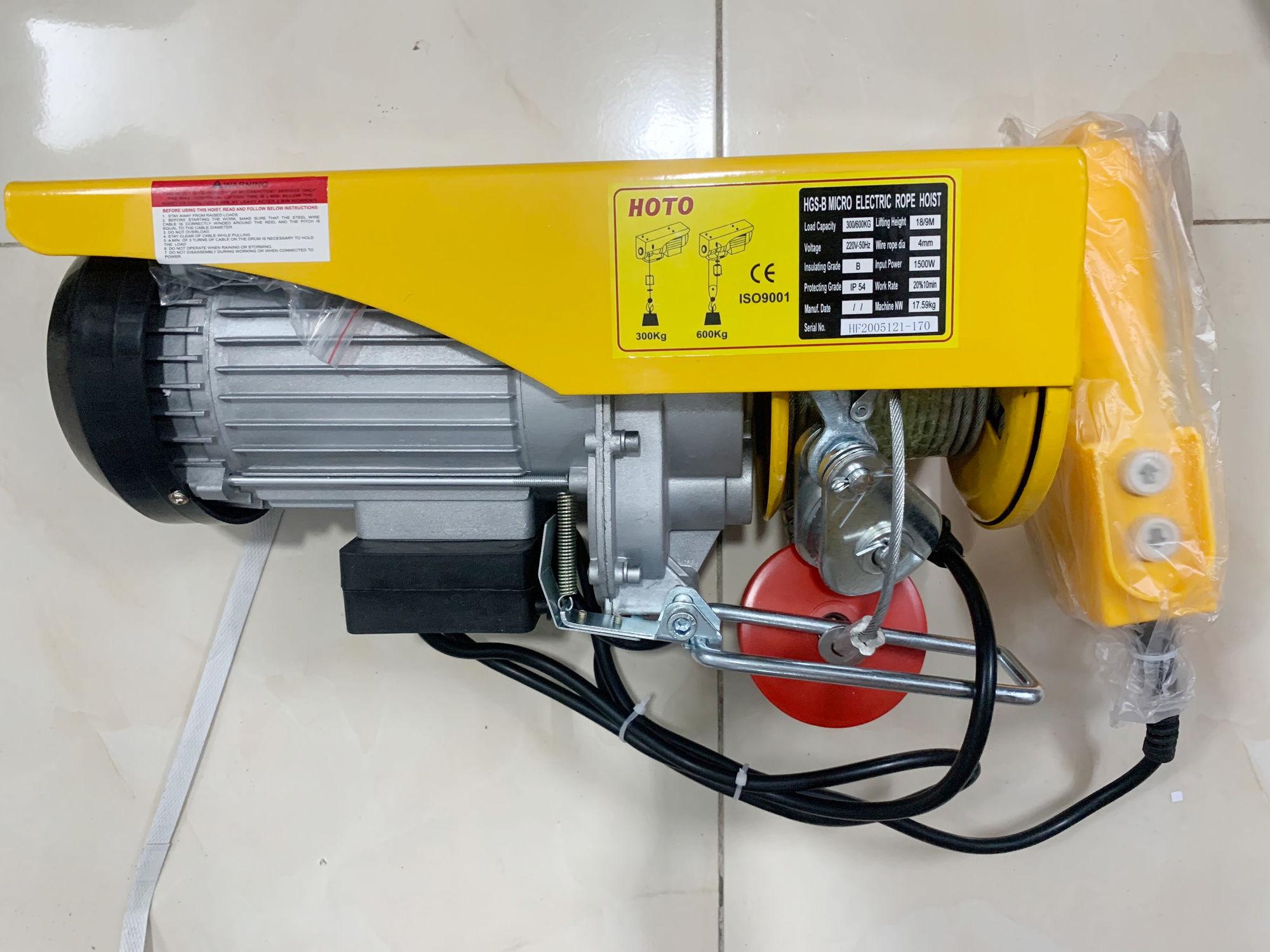 Tời điện Hoto PA 600 (600kg)