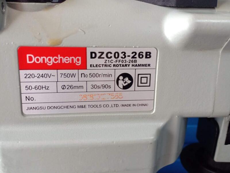 Máy khoan bê tông Dongcheng
