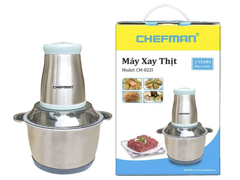 Máy xay thịt Chefman CM-822i