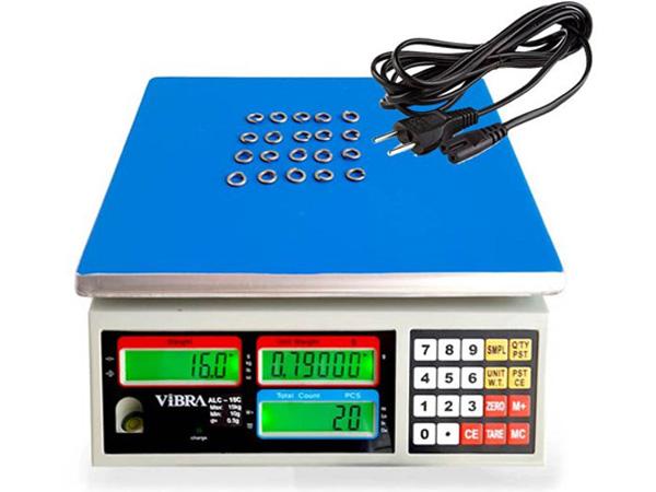 Hình ảnh cân điện tử đếm số lượng 15kg/0.5g Vibra ALC-15