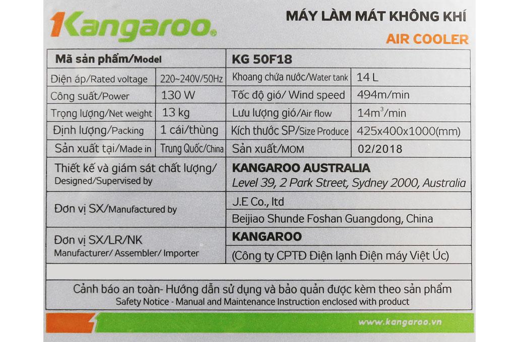 Quạt điều hòa Kangaroo