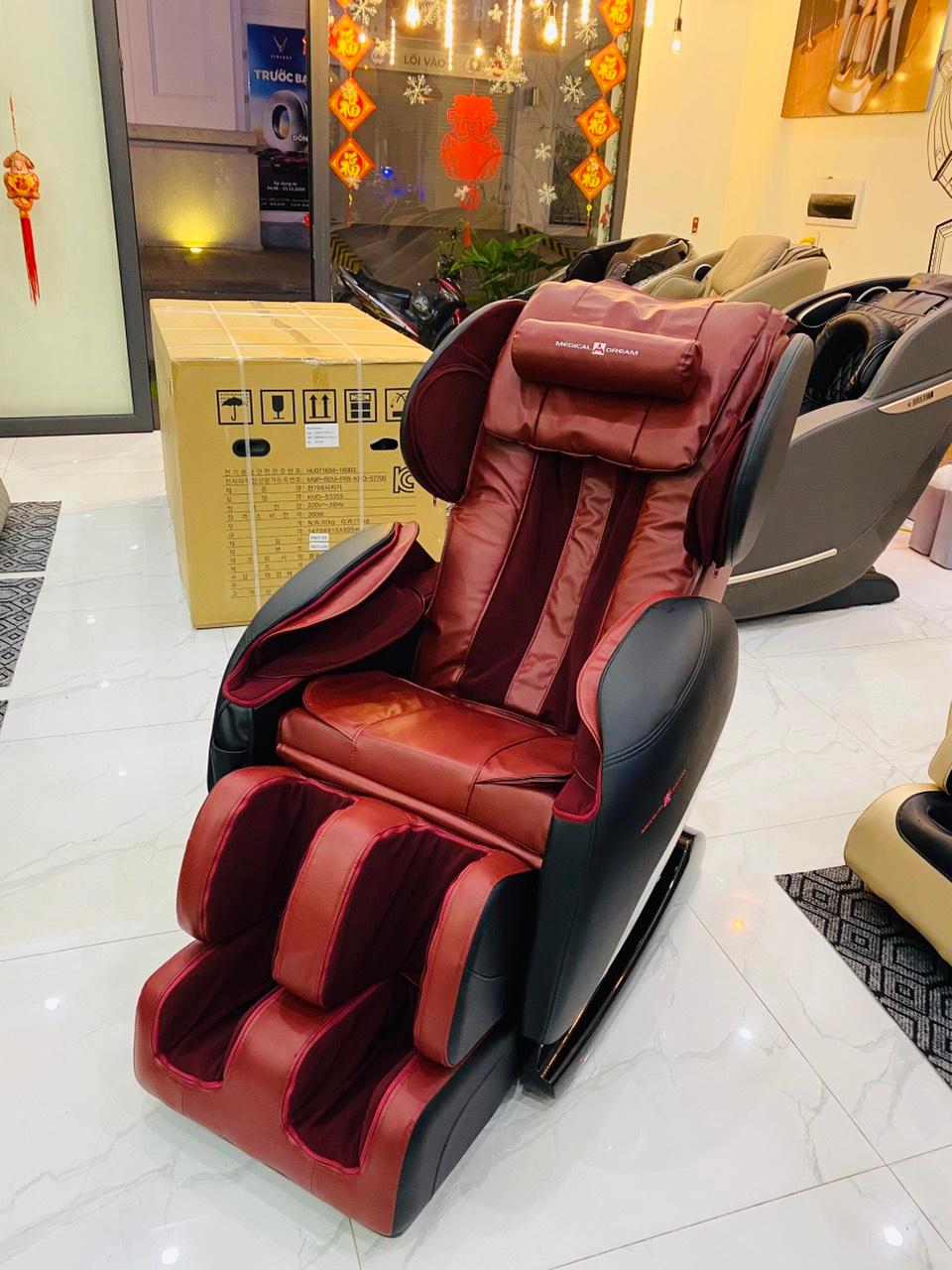Ghế massage thiết kế hiện đại