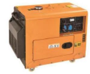 Hình ảnh máy phát điện chạy dầu Benyu BY-9000D
