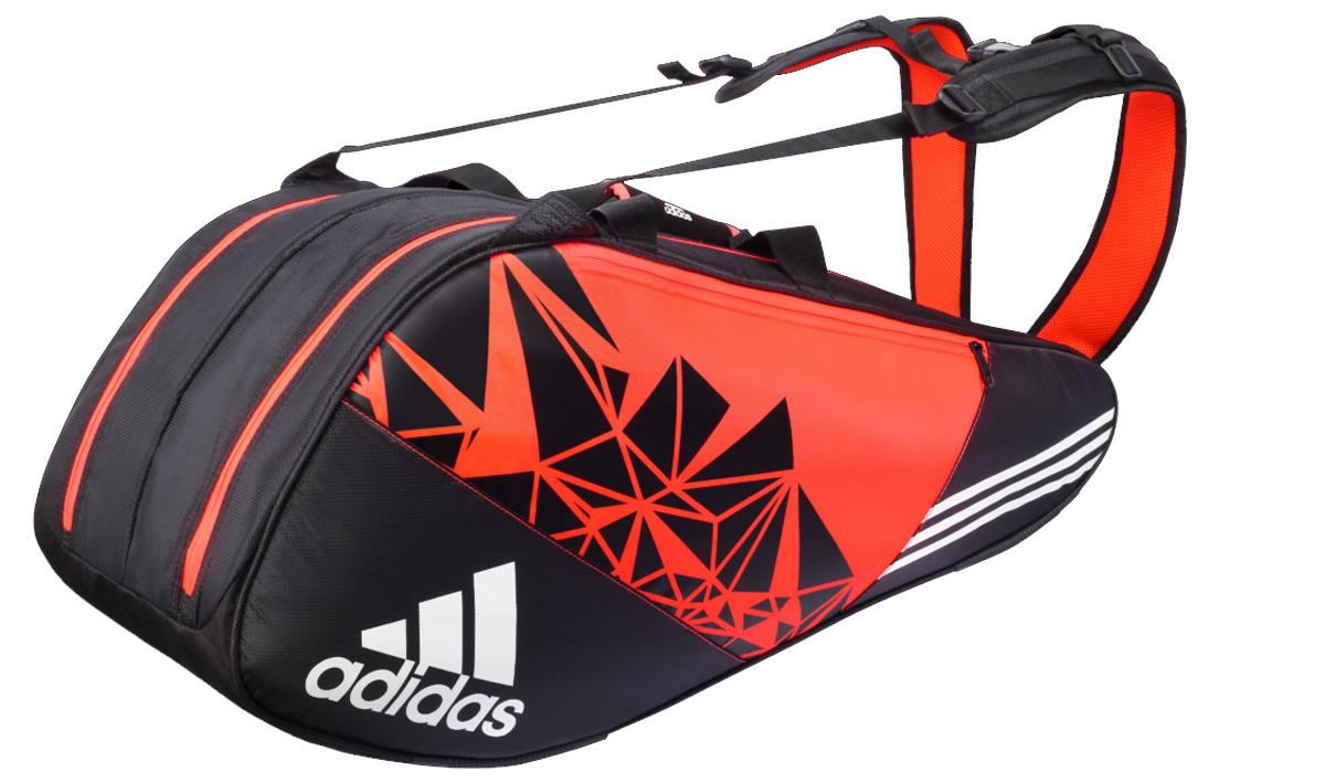 Hình ảnh túi tennis/cầu lông Adidas 2 ngăn Wucht P7 Thermo 8 racket