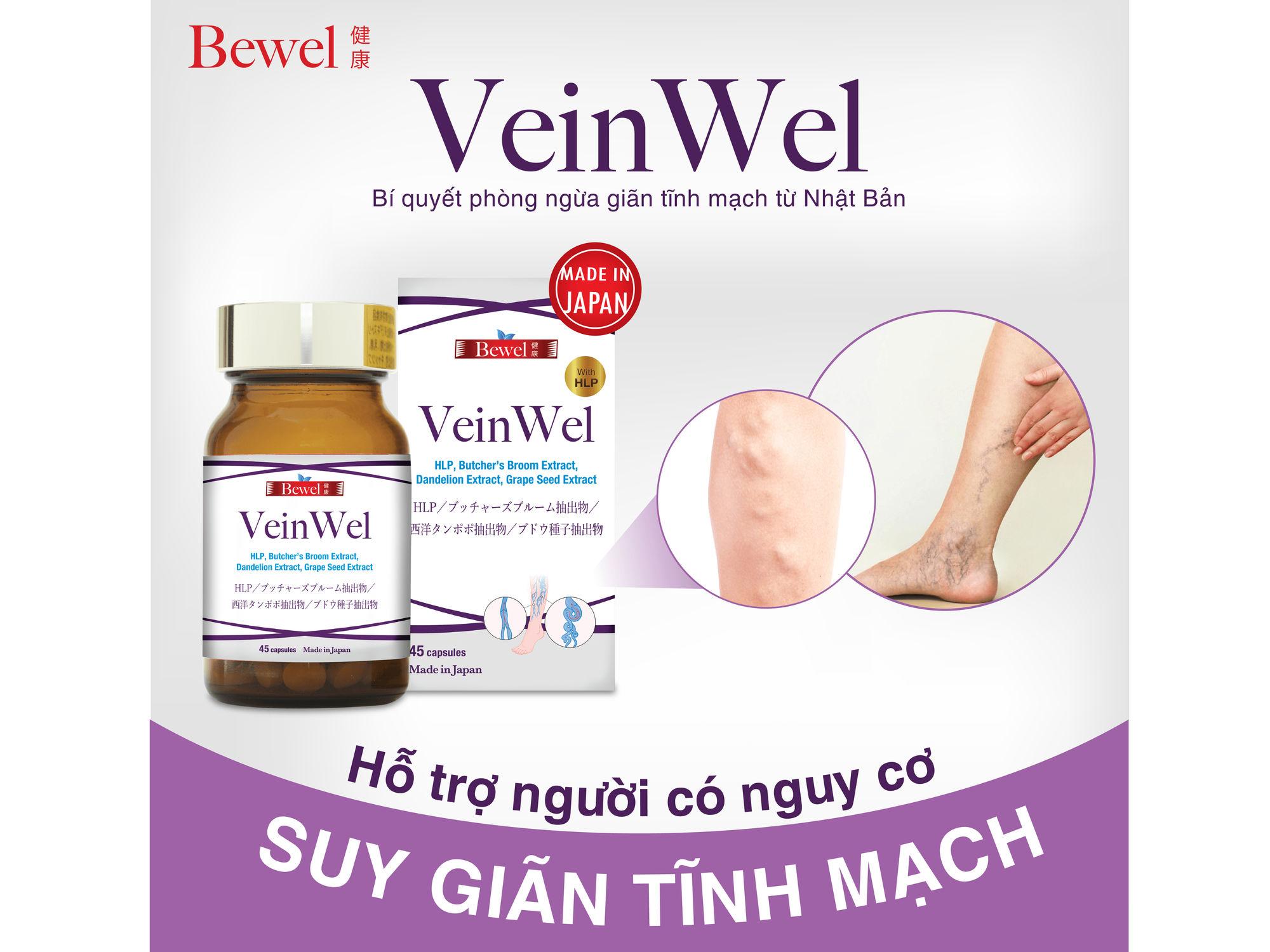 Thực phẩm chức năng Bewel Veinwel