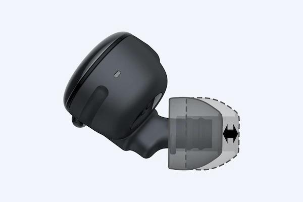 Rãnh cân chỉnh nút nhét tai Sony WF-SP900