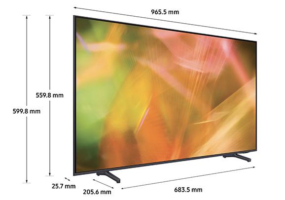 Smart Tivi Samsung 4K 43 inch UA43AU8000
