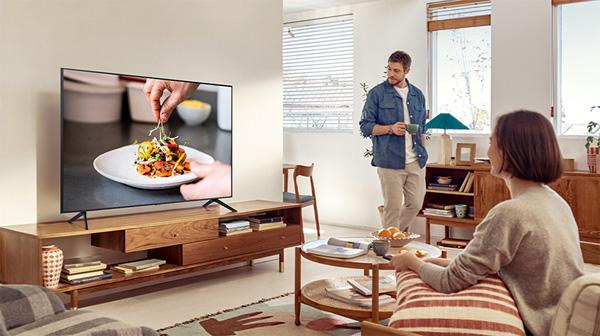 Smart Tivi Samsung UA43AU8000