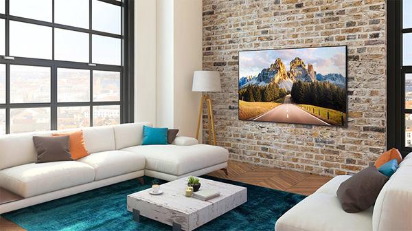 Smart Tivi Samsung 4K 65 inch UA65AU8000
