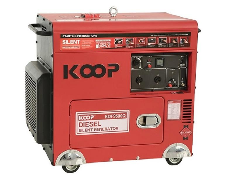 Hình ảnh máy phát điện chạy dầu 7Kw Koop KDF9500Q