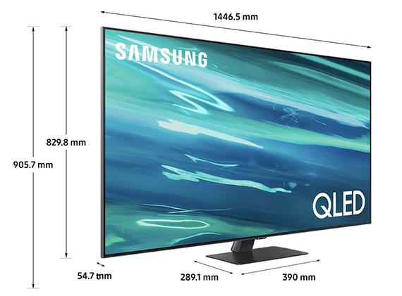 Smart Tivi QLED Samsung QA65Q80A