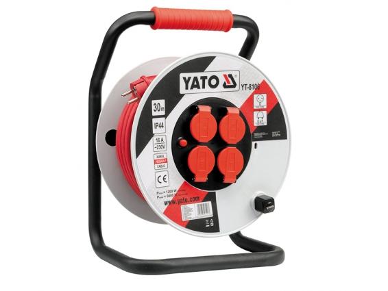 Cuộn dây điện rulo 30m Yato YT-8106