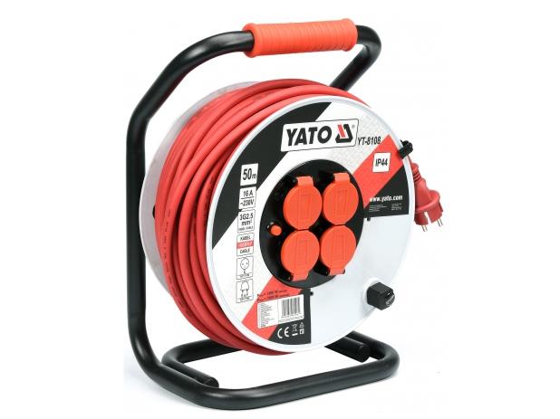 Cuộn dây điện rulo 50M Yato YT-8108