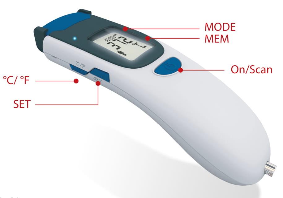 nhiệt kế đo trán TD-1241