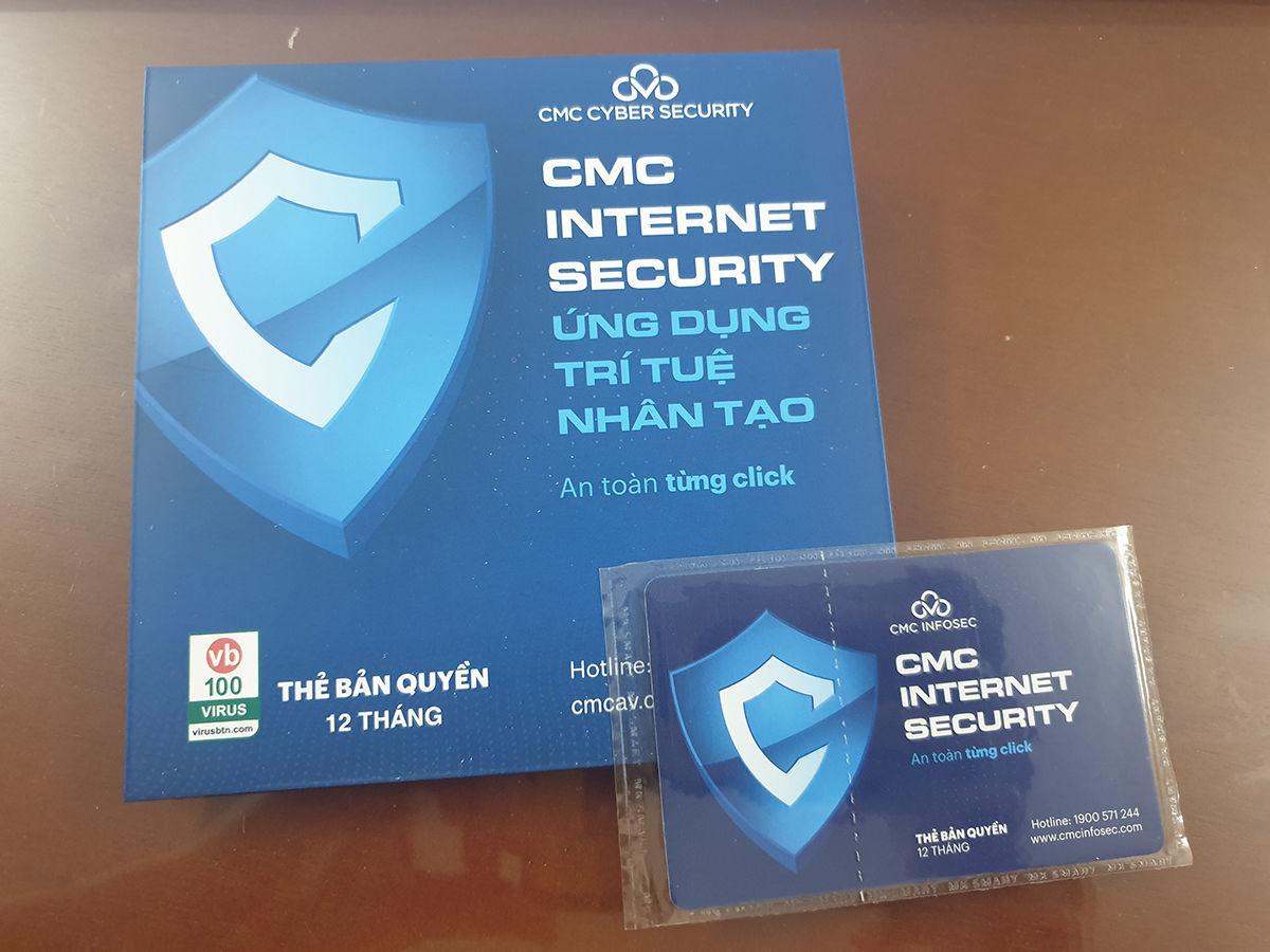 CMC Internet Security phiên bản mới