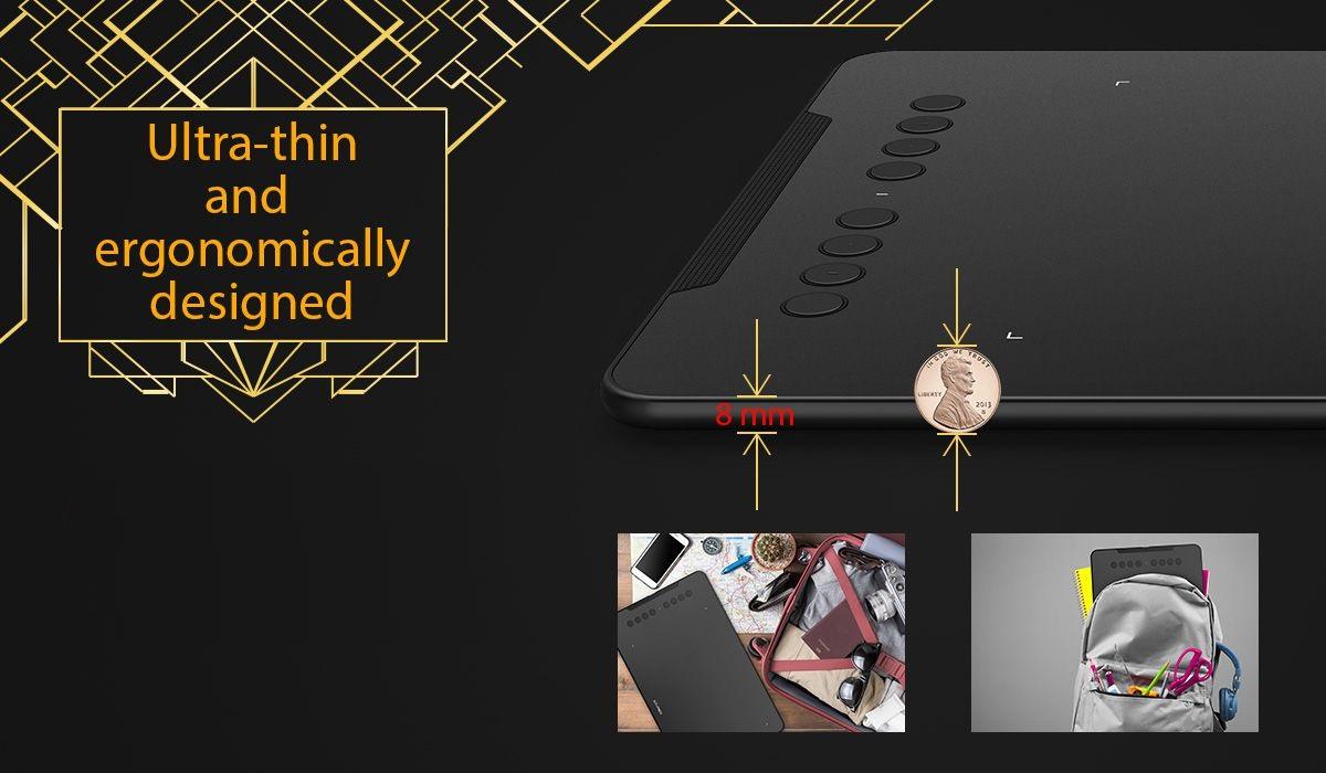 Bảng vẽ siêu mỏng 8mm