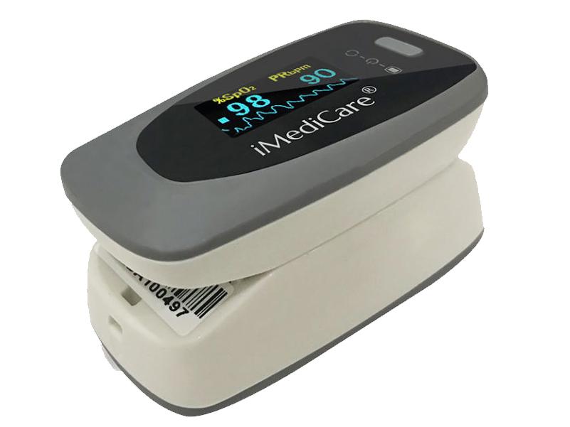 Máy đo nồng độ oxy và nhịp tim iMediCare iOM-A8