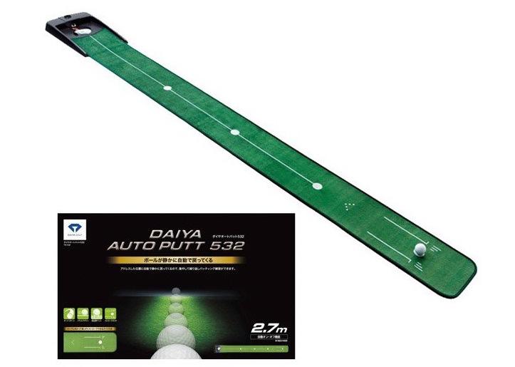 Hình ảnh thảm tập đẩy bóng golf Auto Putt Daiya TR-532
