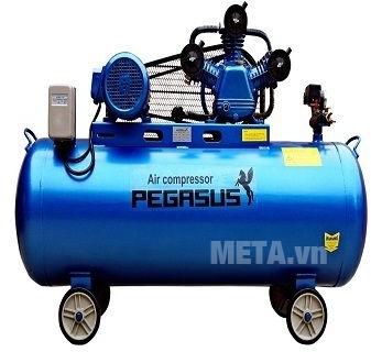 Hình ảnh của máy nén khí dây đai Pegasus TM-W-0.36/8-330L (4HP)