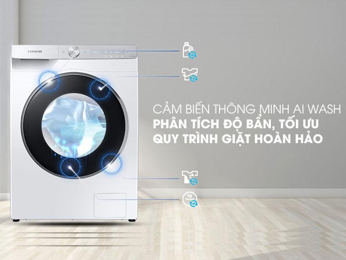 Công nghệ cảm biến AI Wash thông minh