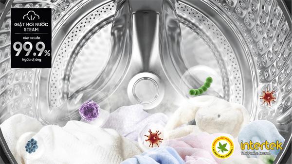 Máy giặt cửa trước WW90TP54DSB/SV