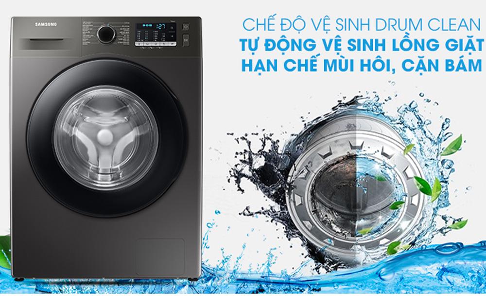 Tự động vệ sinh lồng giặt sạch sẽ