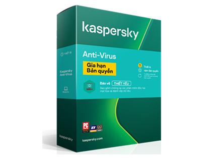 Kaspersky Anti-Virus phiên bản renew