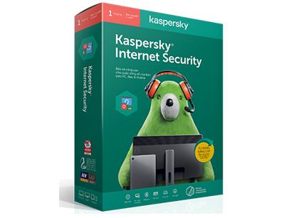Kaspersky Internet Security 2016 - 1 máy/năm là giải pháp bảo mật máy tính chuyên nghiệp.